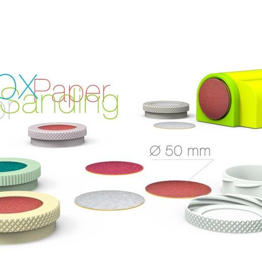 Box.jpg Télécharger fichier STL gratuit Boîte pour papier abrasif • Plan imprimable en 3D, perinski