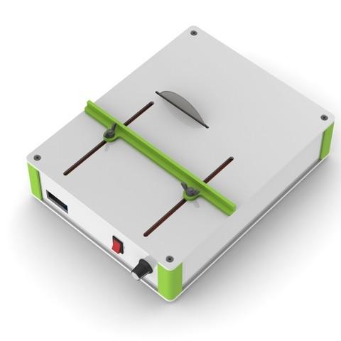2a.JPG Download free STL file Table SAW • 3D print object, perinski