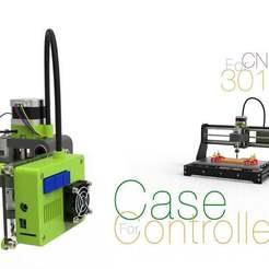 Controller-Case.jpg Télécharger fichier STL gratuit Cas du contrôleur pour la CNC 3018 • Plan pour impression 3D, perinski