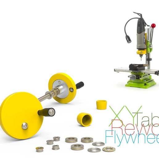 Télécharger fichier STL gratuit Remaniement de la table de l'axe X-Y • Plan à imprimer en 3D, perinski