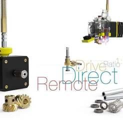 Remote-Direct-Drive.jpg Télécharger fichier STL gratuit Commande directe à distance • Modèle imprimable en 3D, perinski