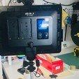 Télécharger plan imprimante 3D gatuit Support d'éclairage avec pince de serrage, perinski