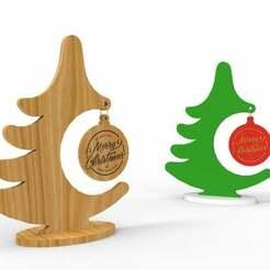 Christmas_tree.jpg Télécharger fichier STL gratuit Arbre de Noël • Objet pour impression 3D, perinski