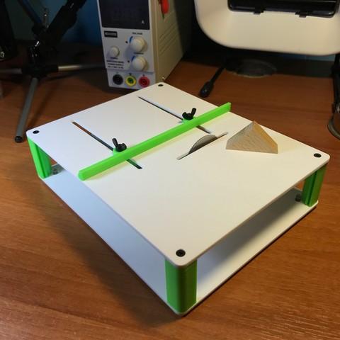 29.jpg Download free STL file Table SAW • 3D print object, perinski