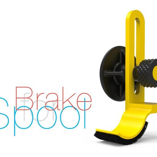 Télécharger fichier STL gratuit Frein pour bobine de filament • Modèle imprimable en 3D, perinski