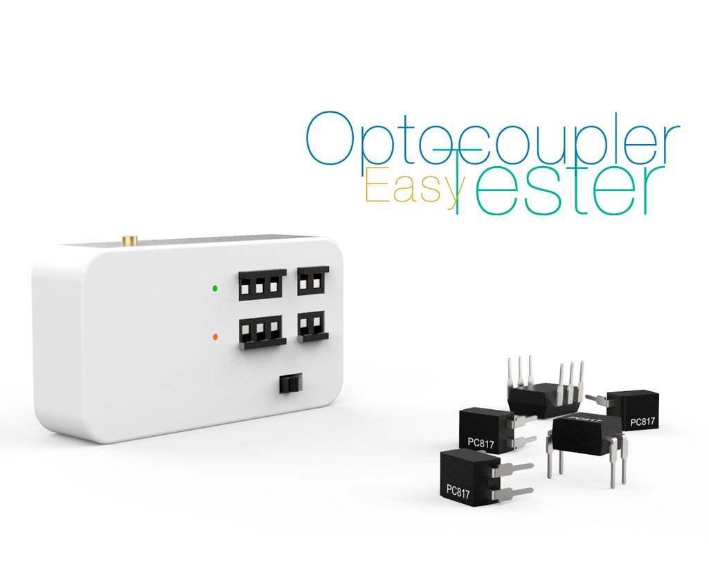 Optocoupler-Tester.jpg Télécharger fichier STL gratuit Testeur d'optocoupleurs facile • Objet à imprimer en 3D, perinski