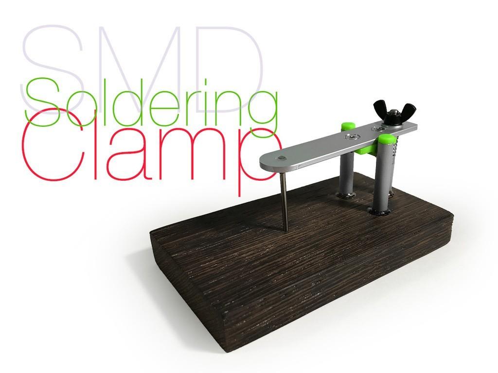 f3ccdd27d2000e3f9255a7e3e2c48800_display_large.jpg Download free STL file SMD Soldering Clamp • 3D print model, perinski