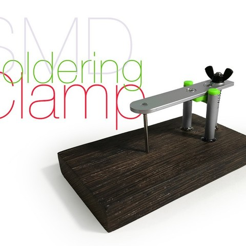 Download free 3D printing files SMD Soldering Clamp, perinski