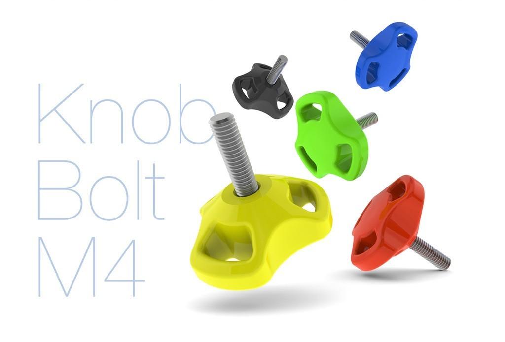 c9ed5f9b0c8829cc72ffce8193beca34_display_large.JPG Download free STL file Knob Bolt M4 • 3D printable design, perinski