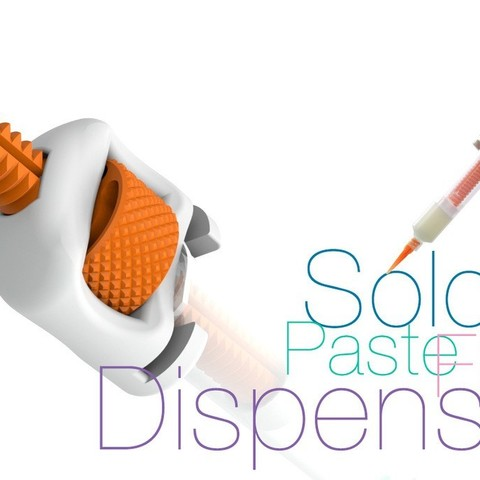 Download free 3D printing designs Solder paste and flux Dispenser, perinski