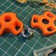 Free 3d model Knob for nuts M8, perinski