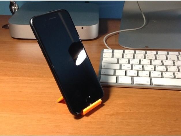 ef78a61e219ad177247ffa8994e54eff_preview_featured.jpg Télécharger fichier STL gratuit iPhone 7 Support • Design à imprimer en 3D, perinski