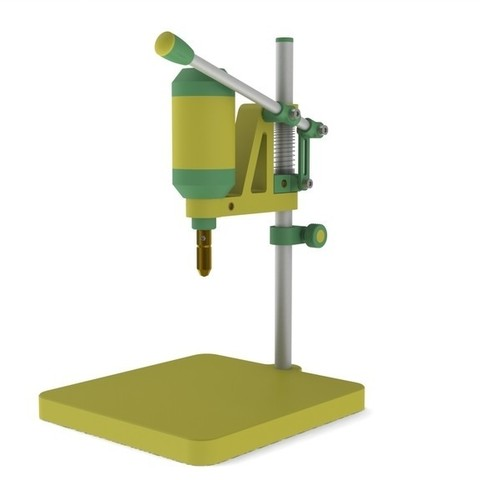 67fbbb9e999d93cb2f51a1d71e3a18b4_display_large.JPG Download free STL file Stand Press. 2 in 1 • Object to 3D print, perinski