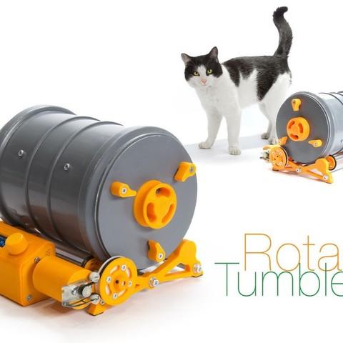 Download free 3D printer files Rotary Tumbler, perinski