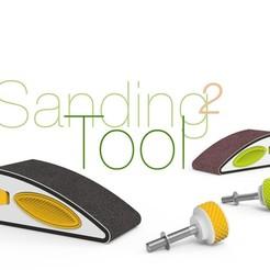 Sanding-Tool-2.jpg Télécharger fichier STL gratuit Outil de ponçage 2 • Objet pour impression 3D, perinski