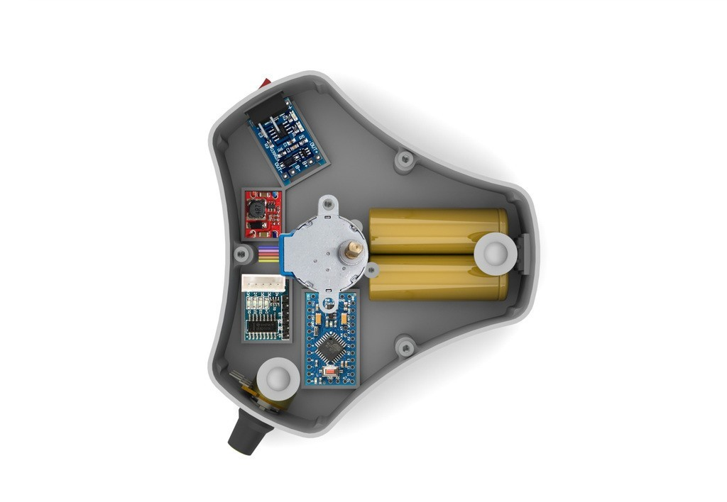 ea0323f5ac1a2b11042a523c8a2c49a1_display_large.jpg Télécharger fichier STL gratuit Table tournante pour la peinture • Design à imprimer en 3D, perinski