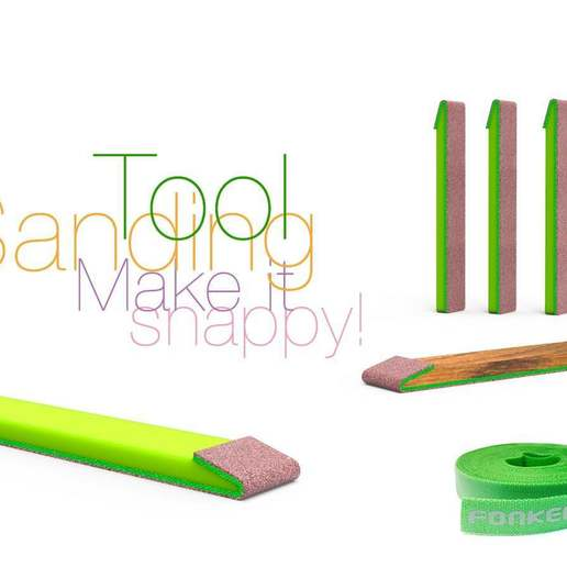 Download free STL file Sanding Tool Make it snappy!, perinski