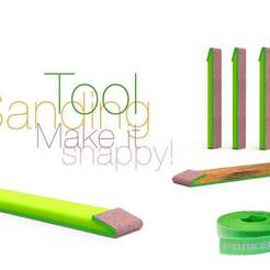 Download free STL file Sanding Tool Make it snappy!, perinski