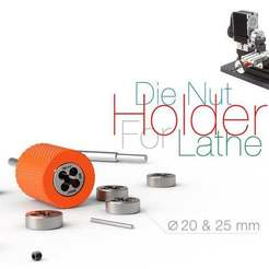 Download free 3D printing files Die Nut Holder for Lathe, perinski
