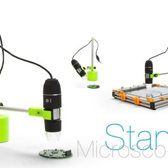 Download free 3D model Microscope Stand, perinski
