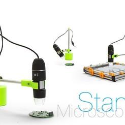 Free 3D print files Microscope Stand, perinski
