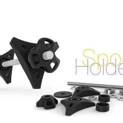 Télécharger objet 3D gratuit Support de bobine, perinski