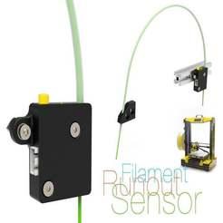 Filament-Runout-Sensor.jpg Télécharger fichier STL gratuit Capteur de faux-rond à filament v2 • Objet pour impression 3D, perinski