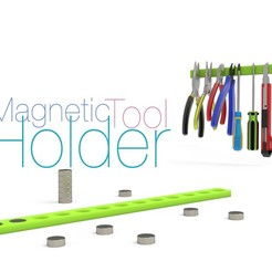 Download free 3D printer model Magnetic Tool Holder, perinski