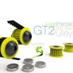 GT2.jpg Télécharger fichier STL gratuit Poulie GT2 de haute précision • Objet imprimable en 3D, perinski