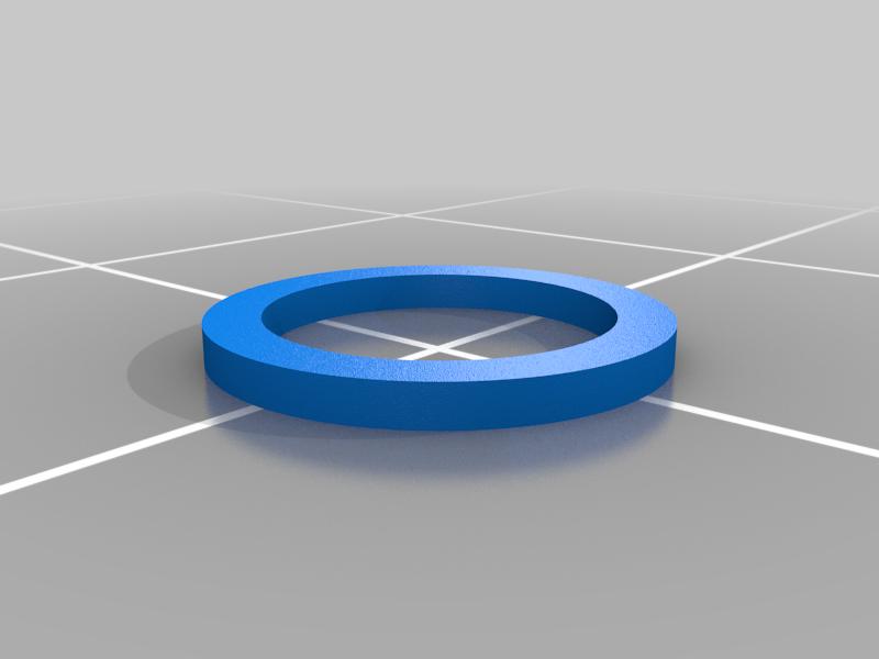 Washer-Inner.png Télécharger fichier STL gratuit Poulie GT2 de haute précision • Objet imprimable en 3D, perinski