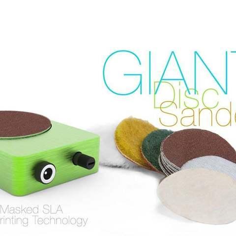Download free 3D printing designs Disc Sander GIANT, perinski