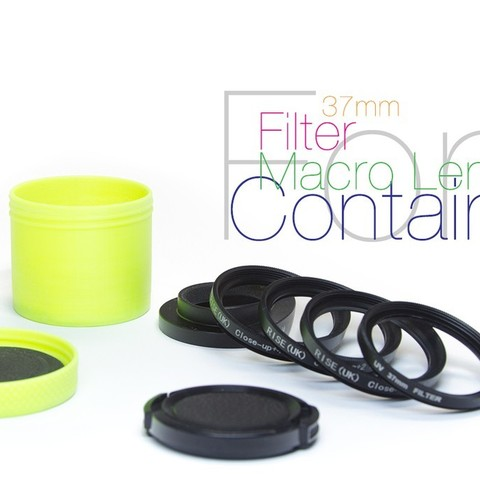 Free 3D model Container for lens and filters, perinski