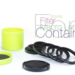 Download free 3D printer files Container for lens and filters, perinski