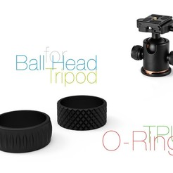 Download free 3D printer model O-Ring for Ball Head Tripod, perinski