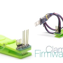 Free 3D model Clamp for firmware controllers, perinski