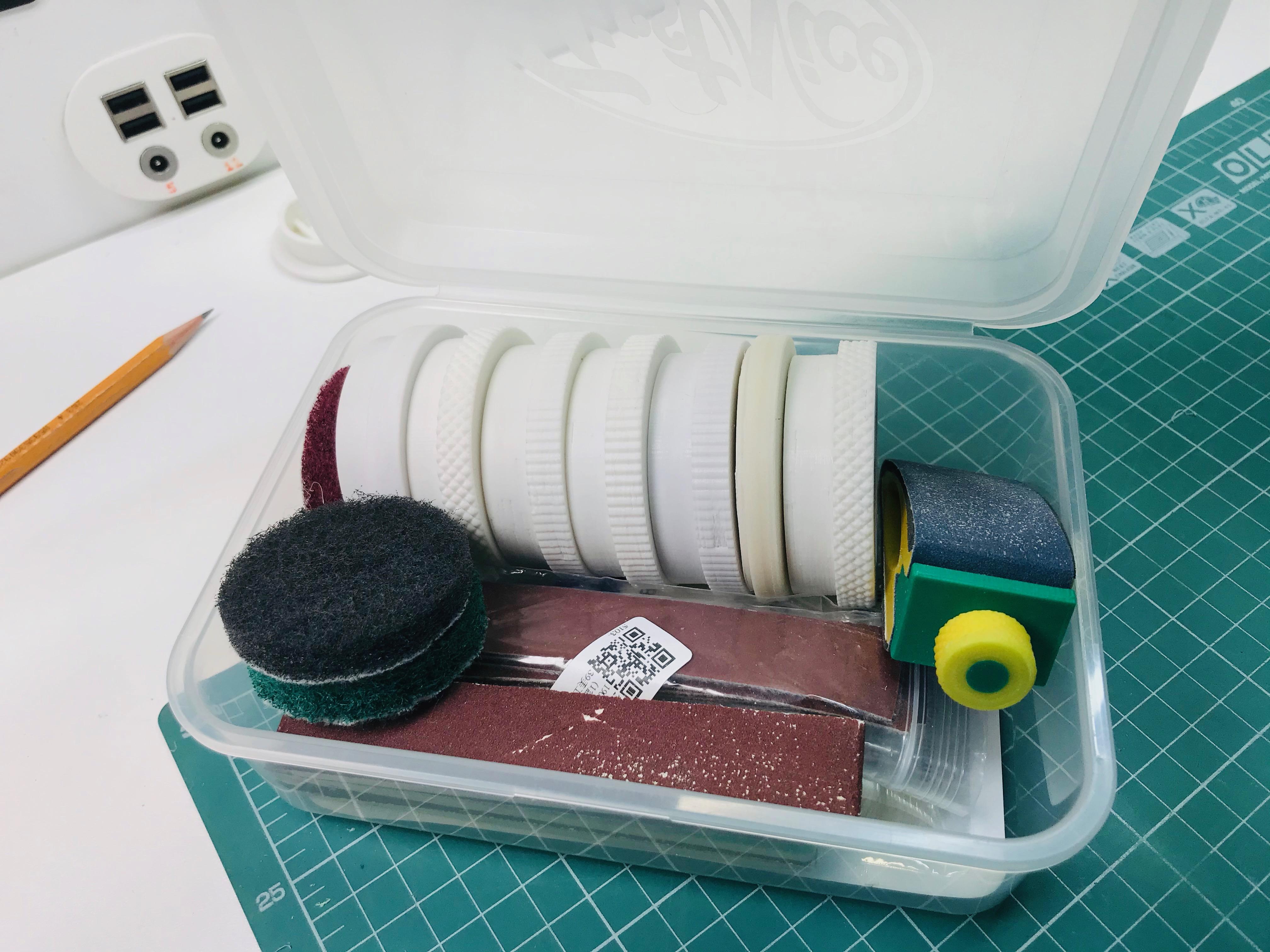 IMG_7164.jpeg Télécharger fichier STL gratuit Boîte pour papier abrasif • Plan imprimable en 3D, perinski