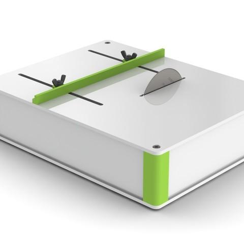1a.JPG Download free STL file Table SAW • 3D print object, perinski