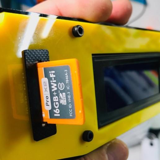 7.jpg Télécharger fichier STL gratuit Support pour carte SD d'extension • Modèle pour imprimante 3D, perinski