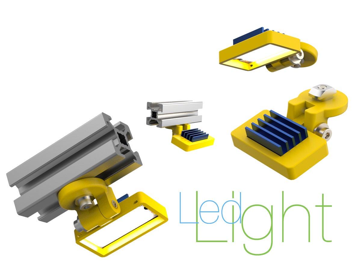 Light-for-3D-printer.jpg Télécharger fichier STL gratuit Led Light pour imprimante 3D • Modèle pour impression 3D, perinski