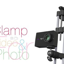 Fichier STL gratuit Clamp for vertical use. Photo and video shooting, perinski