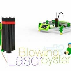 Laser-Blowing-System-2.jpg Download free STL file Laser Blowing System • Template to 3D print, perinski