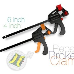 Download free 3D printing designs Broken Clamp Repair, perinski