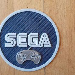 67947594_2430898153848151_1476814703614230528_n.jpg Télécharger fichier STL Sega Logo Multi Color Ready • Modèle pour impression 3D, stormz85