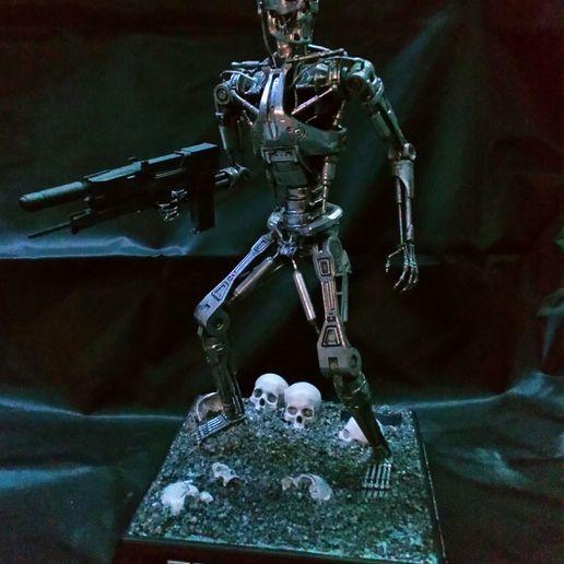 Download free 3D printer files T-800 Endoskeleton, kerag