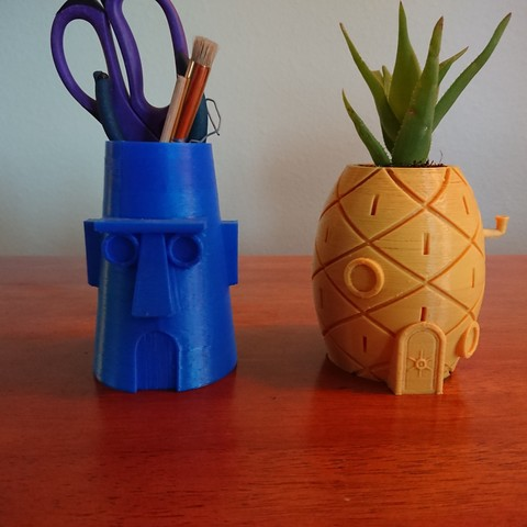 DSC_0118.jpg Download free STL file Spongebob's House Plant Pot • 3D printer template, reno77