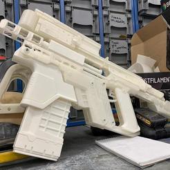 Download 3D printer files Cyberpunk 2077 Kang Tao Gun, IvanVolobuev