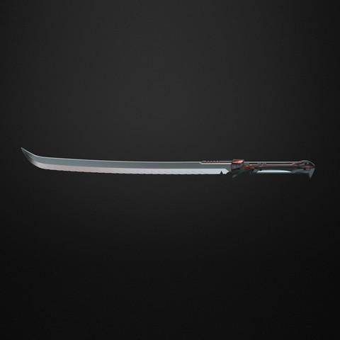 STL Hunter Sword - Destiny , IvanVolobuev