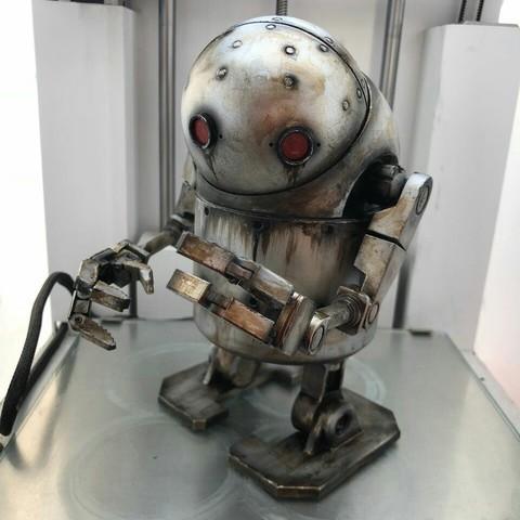 Descargar archivos 3D Nier Automata - Juguete Robot pequeño y rechoncho, IvanVolobuev