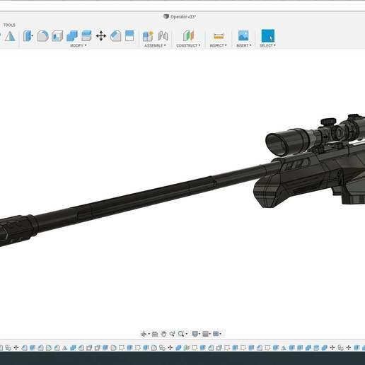 Download 3d Printer Templates Valorant Operator Sniper Rifle Cults