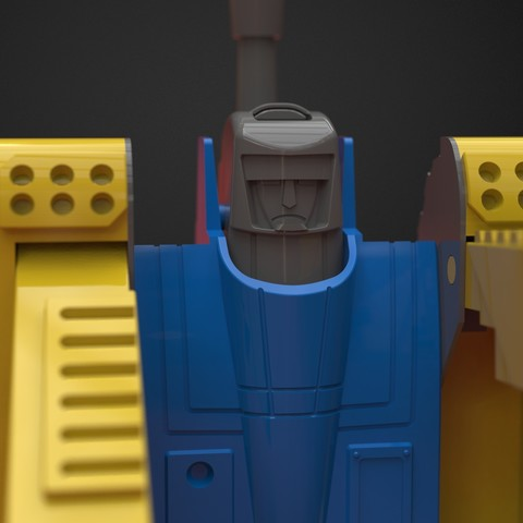 Download free 3D printing designs Robot transformer from 90` TOY!, IvanVolobuev